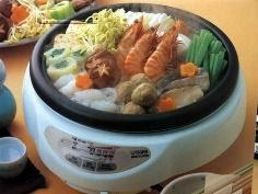 food in rice cooker