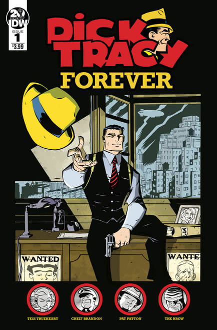 Dick Tracy Forever #1 Cover A Oeming