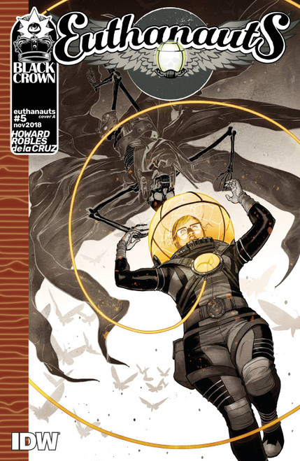 Euthanauts #5 Cover A Robles