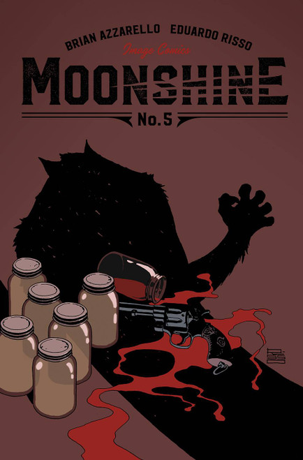 Moonshine #5 Cover A Risso