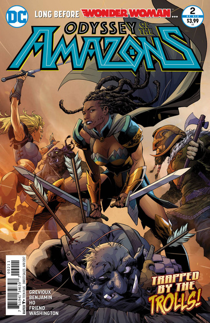 Odyssey of The Amazons #2 (of 6)