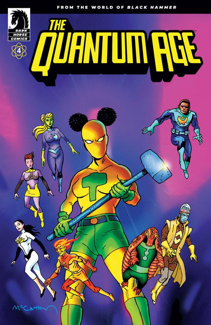 Quantum Age from The World of Black Hammer #4 Cover B