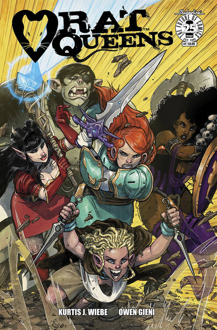 Rat Queens #1 Cover A Gieni