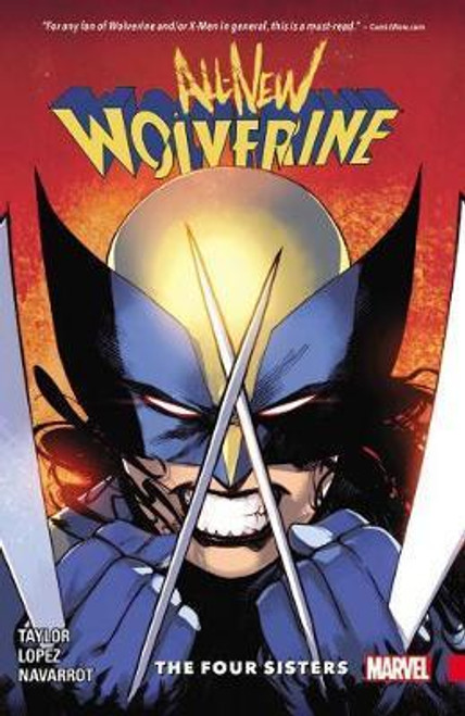 All-New Wolverine 1 The Four Sisters