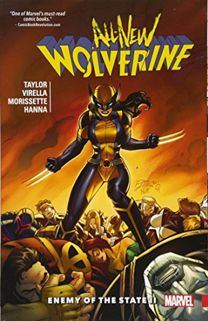 All-New Wolverine 3 Enemy Of The State II