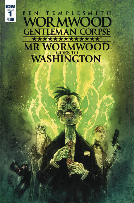 Wormwood Goes to Washington #1 (of 3) Cover A Templesmith