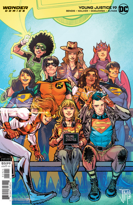 Young Justice #19 Cover B Francis Manapul Var