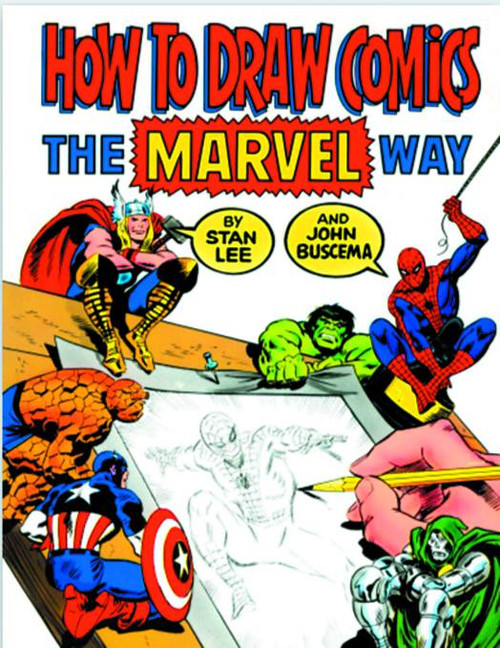 How To Draw Comics The Marvel Way SC New Printing