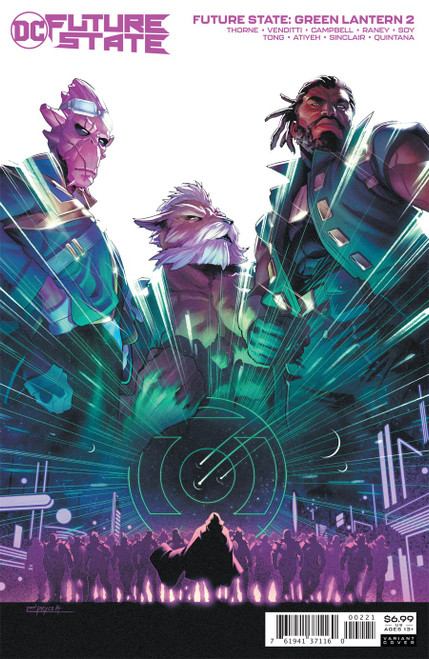 Future State Green Lantern #2 (of 2) Cover B Jamal Campbell Card Stock Var