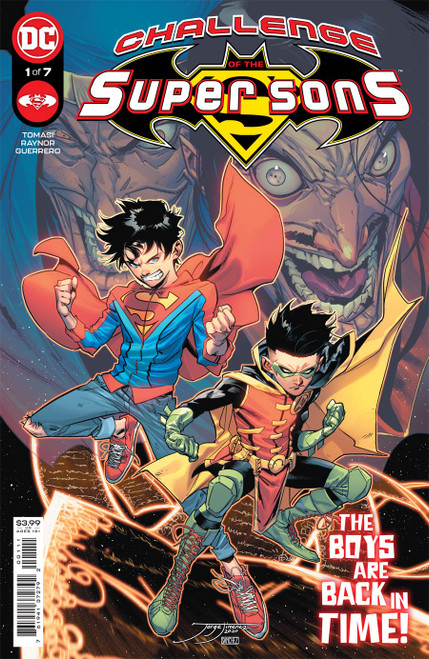 Challenge of The Super Sons #1 (of 7) Cover A Jorge Jimenez
