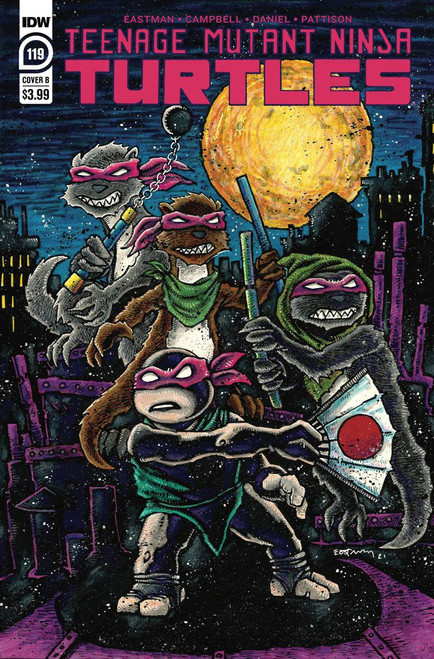 Tmnt Ongoing #119 Cover B Eastman