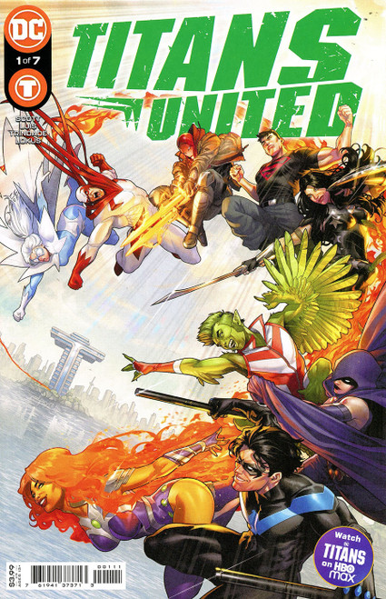 Titans United #1 (of 7) Cover A Jamal Campbell