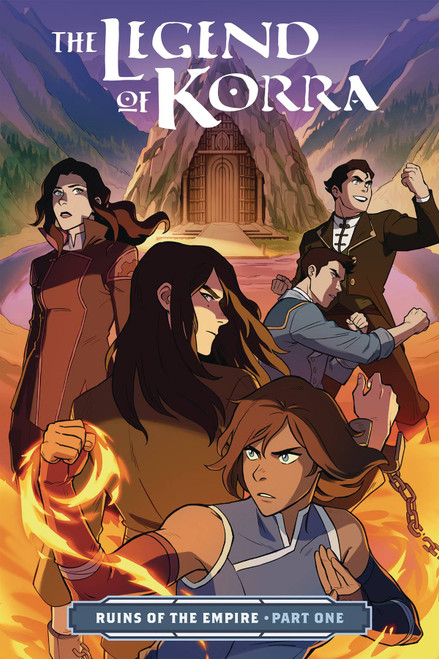 The Legend of Korra Ruins of The Empire 1