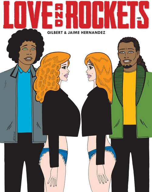 Love and Rockets 2 Zine