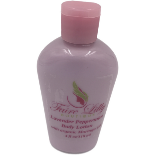 Lavender Peppermint Moringa Oil  Lotion