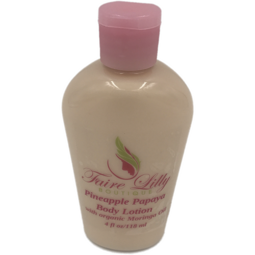 Pineapple Papaya Moringa Oil  Lotion