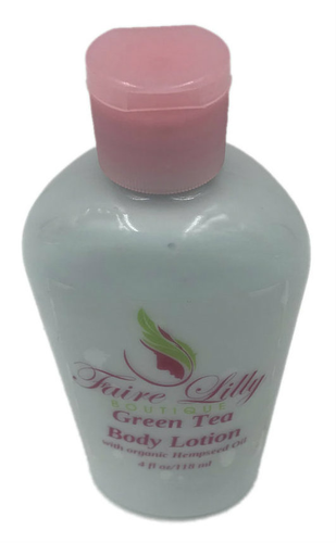 Green Tea Hemp Seed Oil Lotion