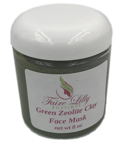 Green Zeolite Clay Face Mask