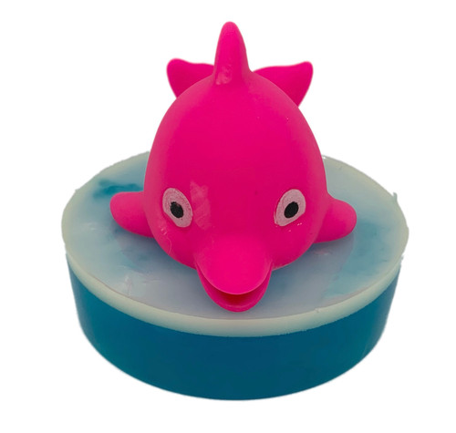 Baby Dolphin Ride the Wave Soap Pink