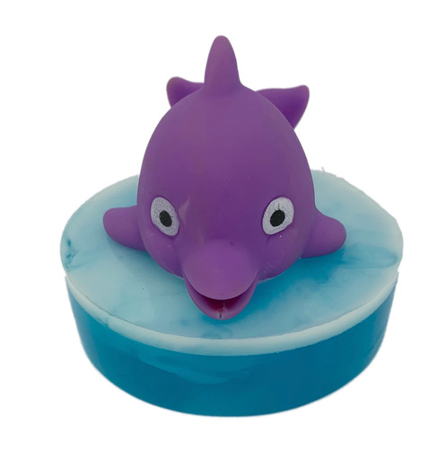 Baby Dolphin Ride the Wave Soap Purple