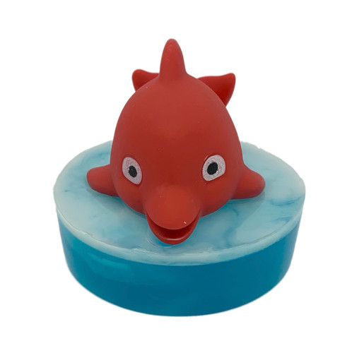 Baby Dolphin Ride the Wave Soap Red