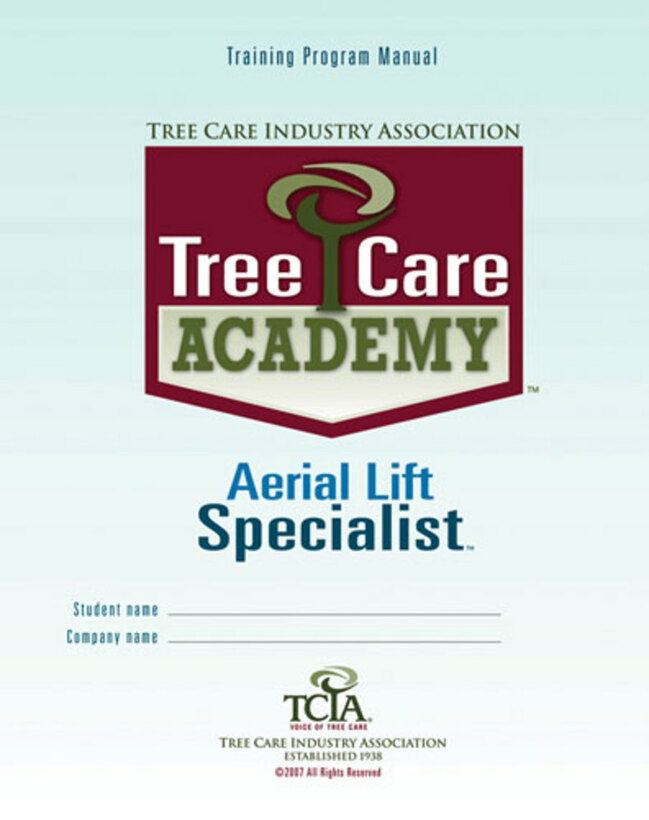 Aerial Lift Specialist **Spanish Version** Tree Care Academy
