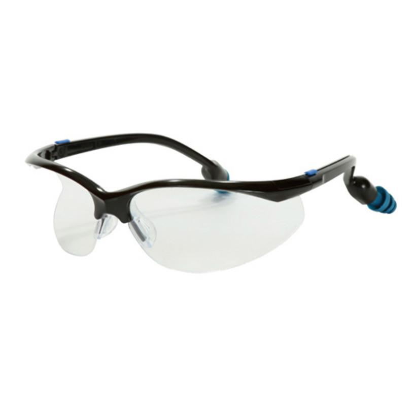 Plugs Safety Eyewear Clear Lenes
