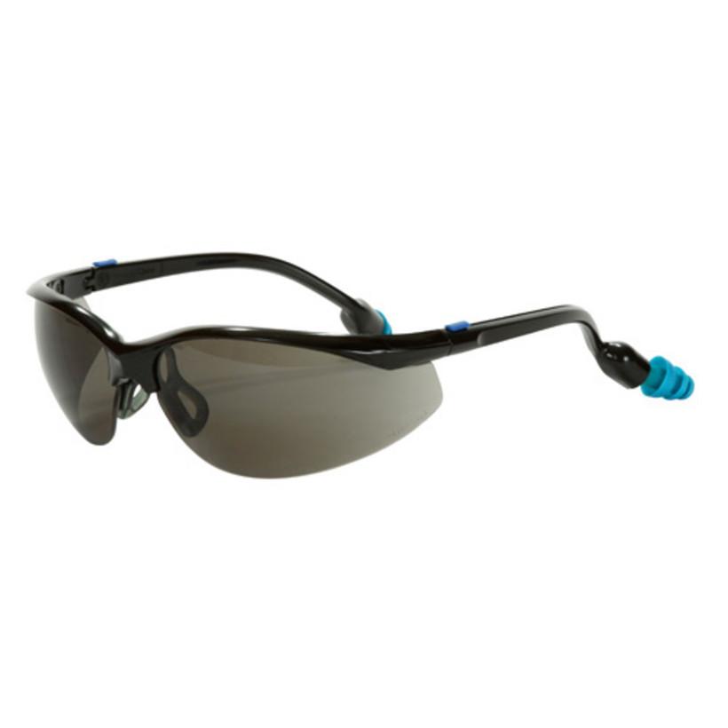 Plugs Safety Eyewear Grey Lenes
