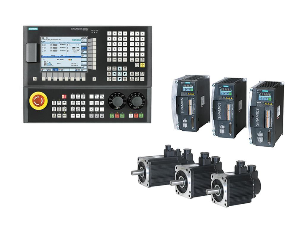 Siemens 808D Hardware Only CNC Kit