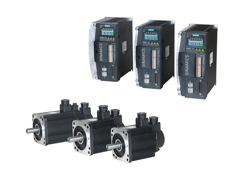 Siemens 808D Basic Drives and Motors