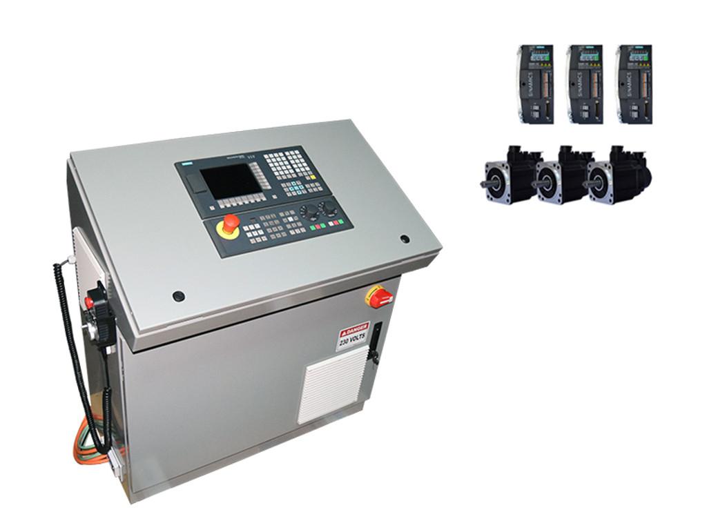 3-Axes Siemens 808D Mill CNC Kit, Siemens Motors & Drives, Console Config