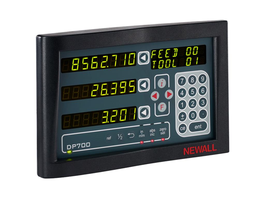 "Newall - DP700, 12"" x 40"" Travel, Lathe DRO Kit"