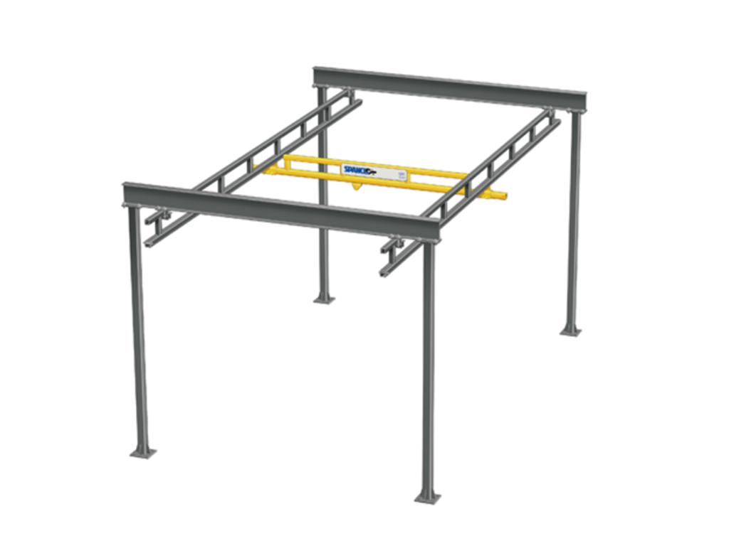 Freestanding Workstation Bridge Cranes, Spanco