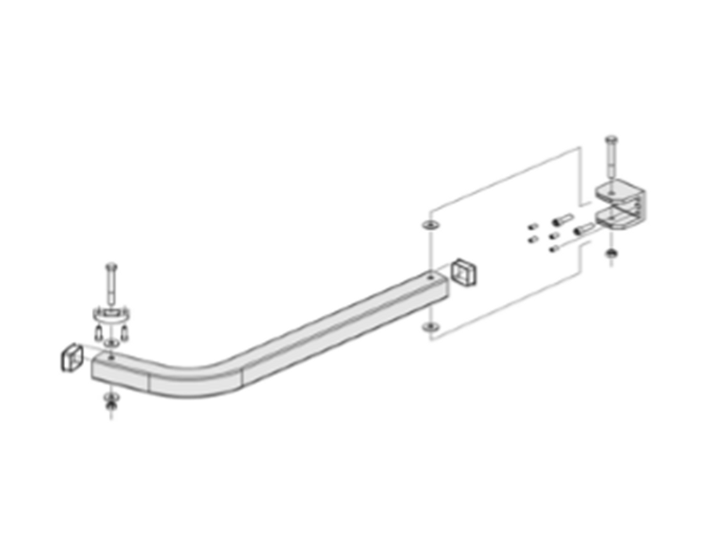 Acu-Rite - Mill Drill Readout Mounting Arm Bracket