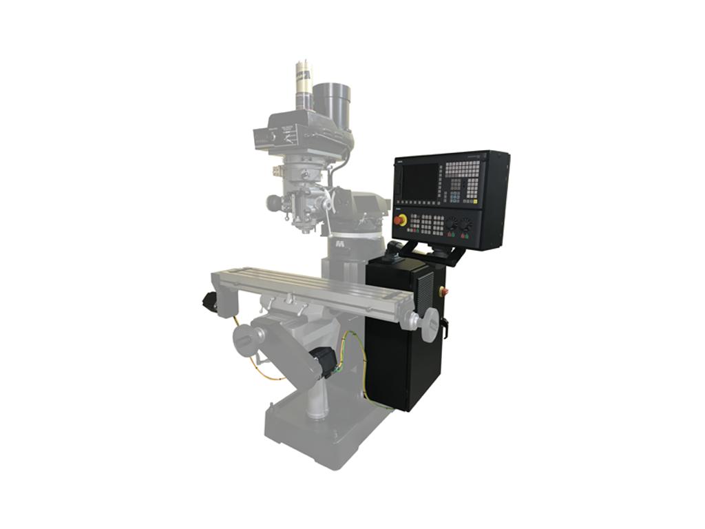 Siemens 828D 2-Axis Knee Mill CNC Retrofit Kit