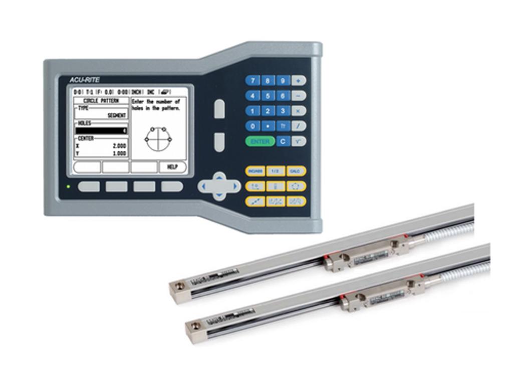 Acu-Rite VUE 2-Axis Mill DRO Kit
