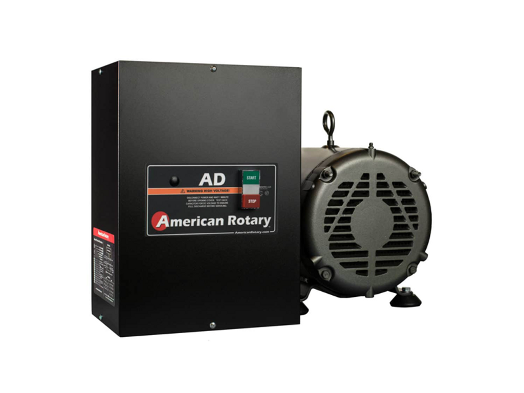 5HP-75HP Rotary Phase Converter, 440-480V, AD Series, American Rotary