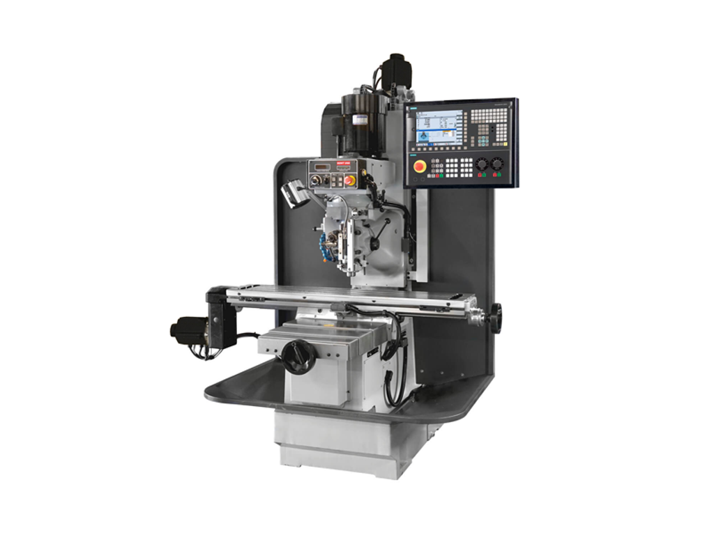 """KENT BM-3 CNC Bed Mill with Siemens 828D Control, 10"""" x 50"""" Table"""