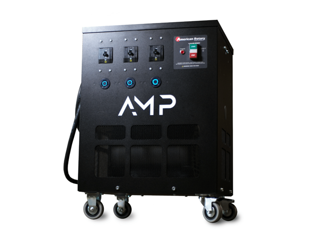 5HP-20HP Mobile Rotary Phase Converter, 208-250V, AMP Series, American Rotary