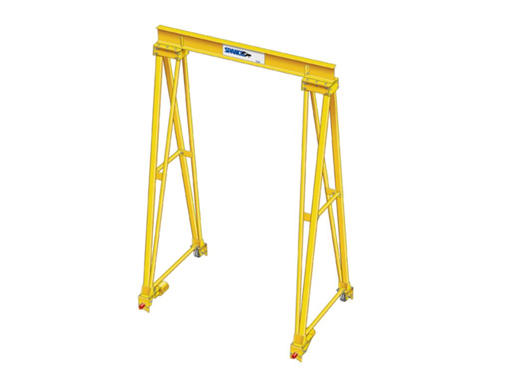 High Capacity, High Height, Long Span Gantry Cranes - Spanco PF Series