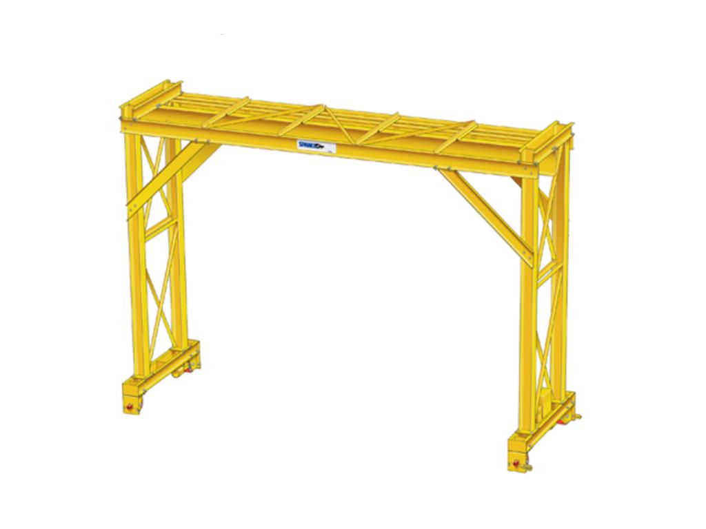 Wide Flange Gantry Cranes - Spanco