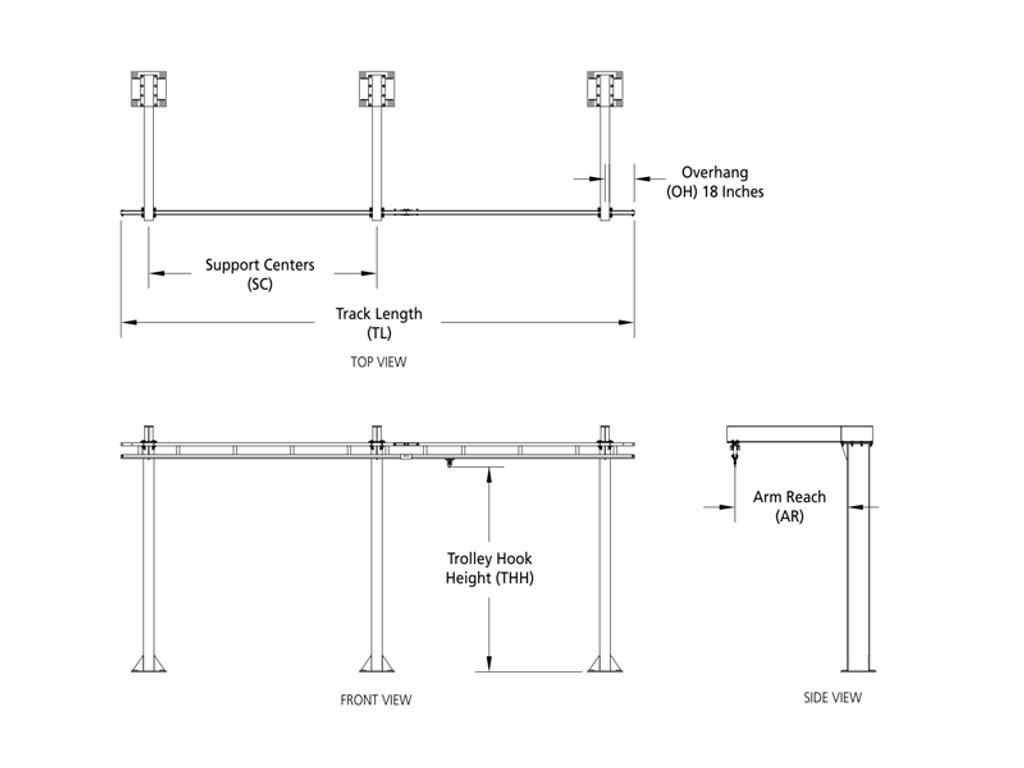 Rigid Lifelines - Inverted-L Anchor Track™ System