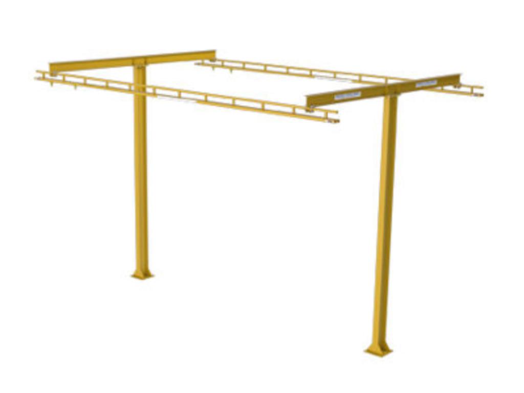 Rigid Lifelines - T-Frame Anchor Track™ System