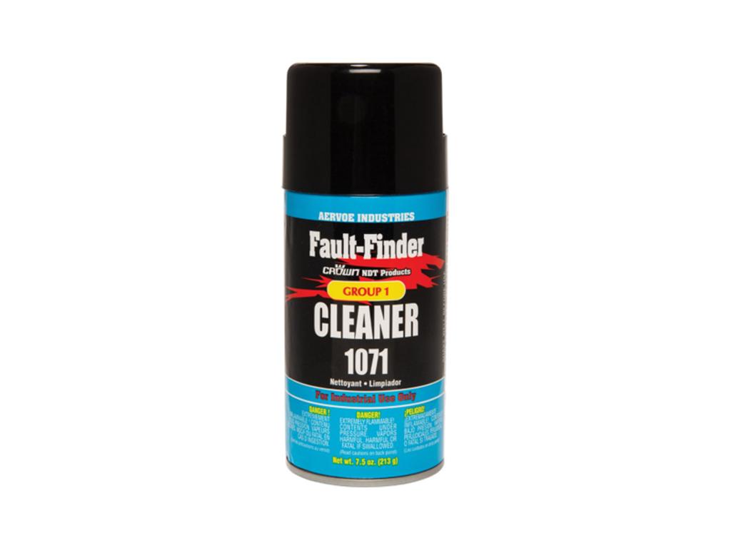Crown 1071 Fault Finder Cleaner, 12oz Aerosol Can