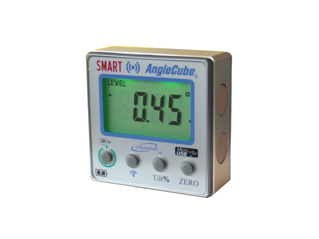 iGaging 35-2270 Smart AngleCube Digital Protractor