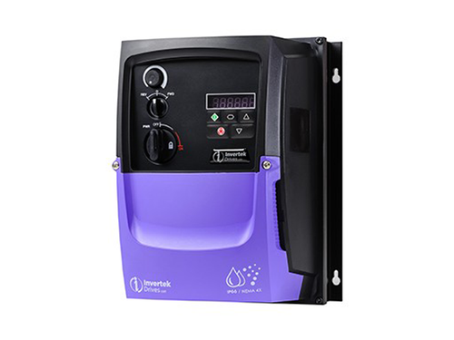 1hp OPTIDRIVE P2 460V 3Ø IN, 460V 2.2A 3Ø OUT with Brake Transistor - NEMA4X(IP66), complete with operator devices