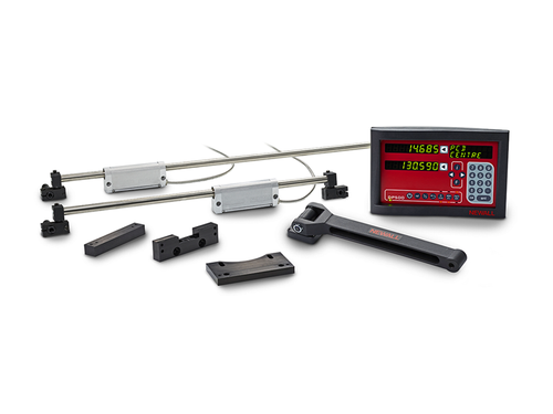 "Newall - DP500, 10"" x 72"" Travel, Microsyn LT Cross Slide, Lathe DRO Kit"