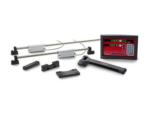 """Newall - DP500, 3 Axes w/Quill, 8"""" x 18"""" x 4"""" Travel, Mill/Drill DRO Kit"""