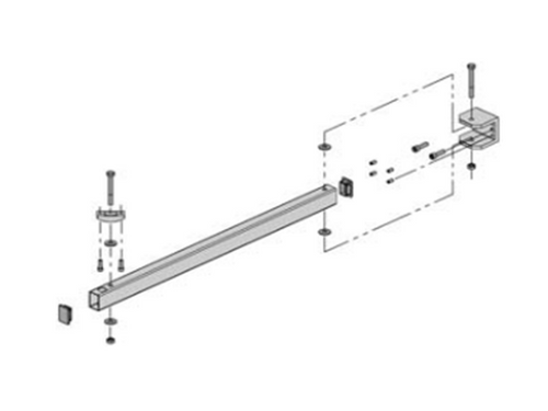 Acu-Rite - Milling (Side Mount) Readout Mounting Arm Bracket
