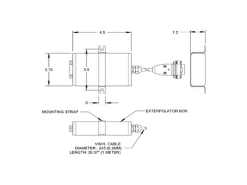 Acu-Rite - Exterpolator Converter S.E. Mini-Din